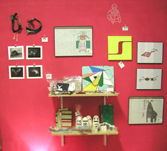 Wall from Art Star Pop Up at Plush Gallery Art Gallery Dallas TX | Art Markets by Teresa O'Connor of Hello Lucky