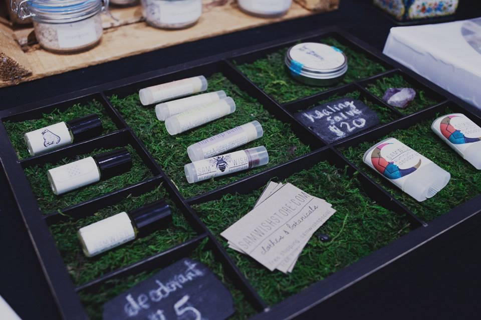 Sam Wish Handmade Botanicals | Handmade Beauty Products in Houston TX | Craft Fairs Houston