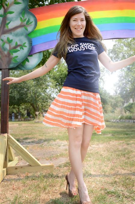 Pop Shop Houston Festival Women's T Shirt | Ladies Pop Shop T Shirt