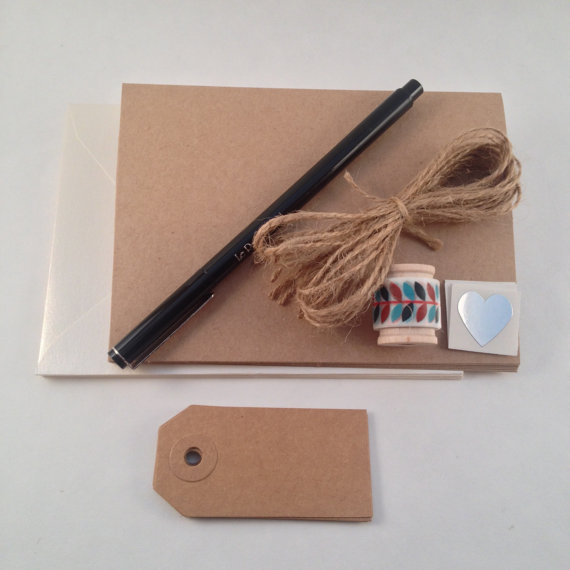 DIY Stationery Kit by PS Paper Shoppe   DIY Cards and Other Craft Kits at Pop Shop America