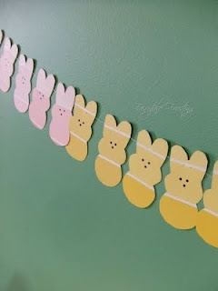 Make Your Own Paint Sample Garlands | Paint Sample Garland Bunny | Kid's DIYs
