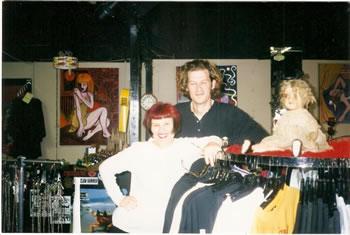 Jeanette Whitt of Love Street Diva   90s Montrose Clothing Boutiqes