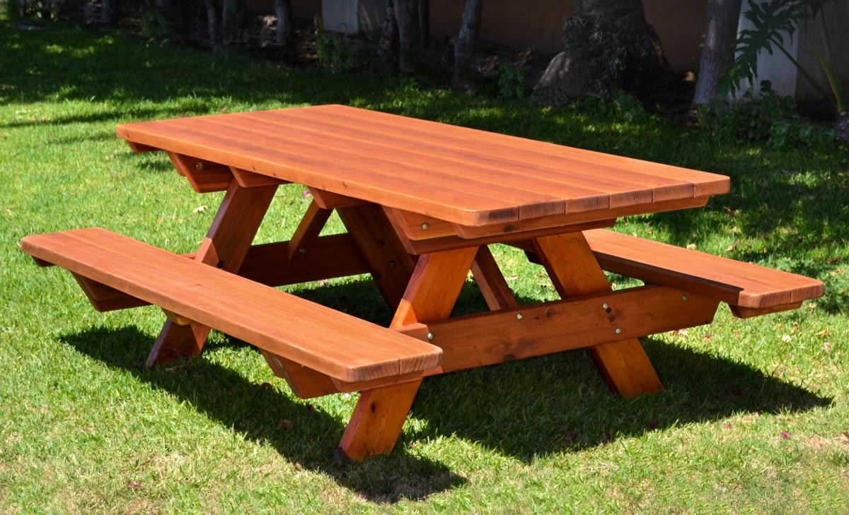 Picnic table instructions pop shop america for Instructions on how to build a table