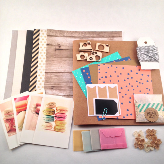 DIY Photo Book 2 by PS Paper Shoppe | Make Your Own Scrapbook with this DIY Craft Kit at Pop Shop America