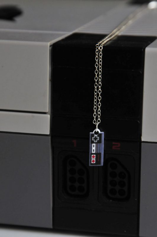 Nintendo Controller Necklace | Video Game Jewelry | Nintendo Jewelry