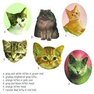 Kitten Heads for T Shirts | Kitten Tank Top | Handmade Clothes at Pop Shop America Online Boutique