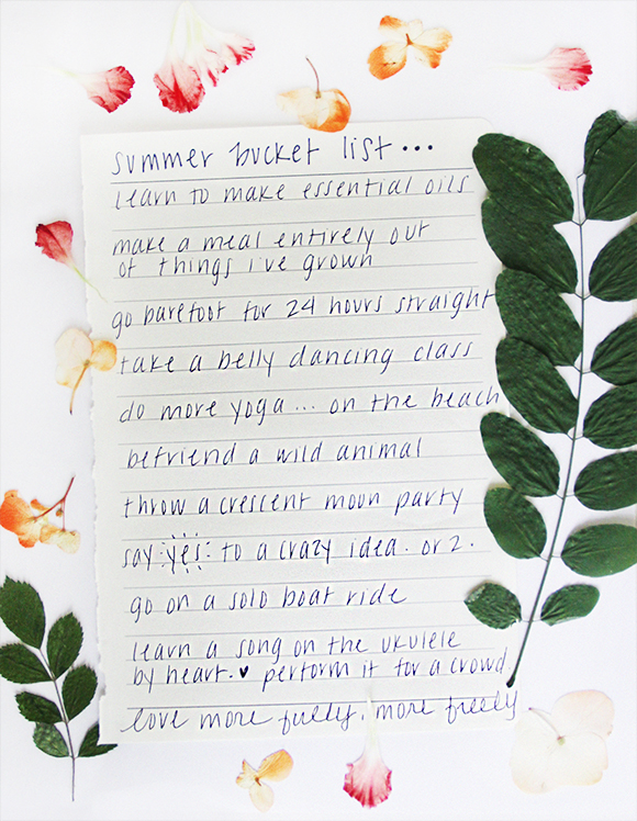 Make a Summer Bucket List from the Free People Blog | Things to Do this Summer | Pop Shop America a DIY Blog