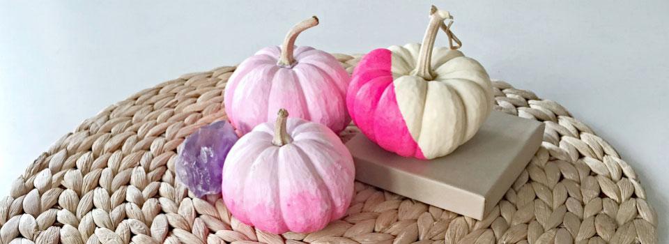 Ombre Pumpkins   Modern Fall Decor Ideas   Decorate with Pumpkins   Fall DIY's on the Pop Shop America Blog