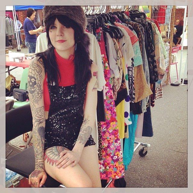 meg michelle | Mini Pops at Pavement Clothing | Craft Fair at Westheimer & Dunlavy | Montrose Arts Market