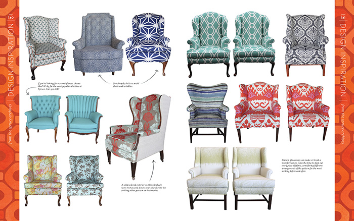 Ideas For Reupholstering A Chair | From The Spruce Upholstery Book | Spruce  Austin Is An