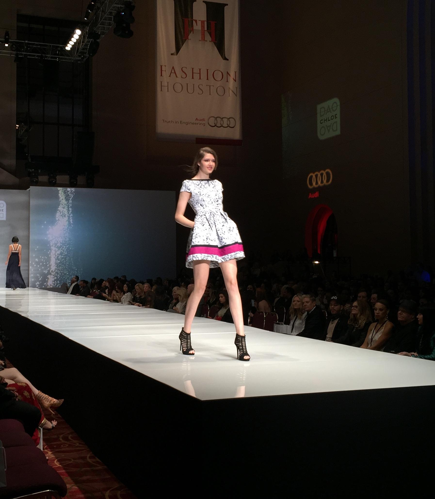 Chloe Dao Fashion Show at Fashion Houston Wortham Center November 2014 | 2014 Chloe Dao Dresses | Designers in Houston