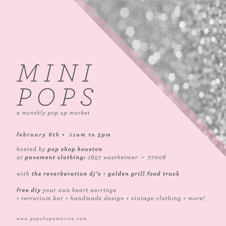 Mini Pops Monthly Art Market Montrose by Pop Shop America DIY Blog