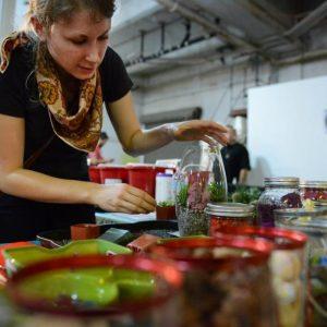 Build a Succulent Terrarium | Terrariums at Pop Shop Houston Festival | The First Pop Shop Houston at Summer Street Studios November 2012
