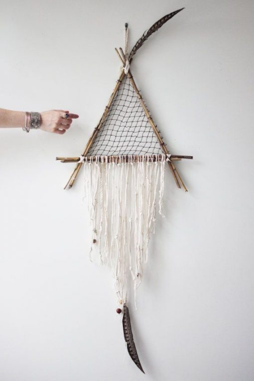 Dreamcatcher from the Free People Blog | Alternative ways to make Dreamcatchers | Alternative Home Styles | Magical House | From the Pop Shop America Blog