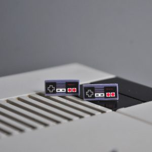 Nintendo Stud Earrings | Video Game Jewelry | Handmade Nerd Jewelry | Original NES at Pop Shop America Online Shopping Website