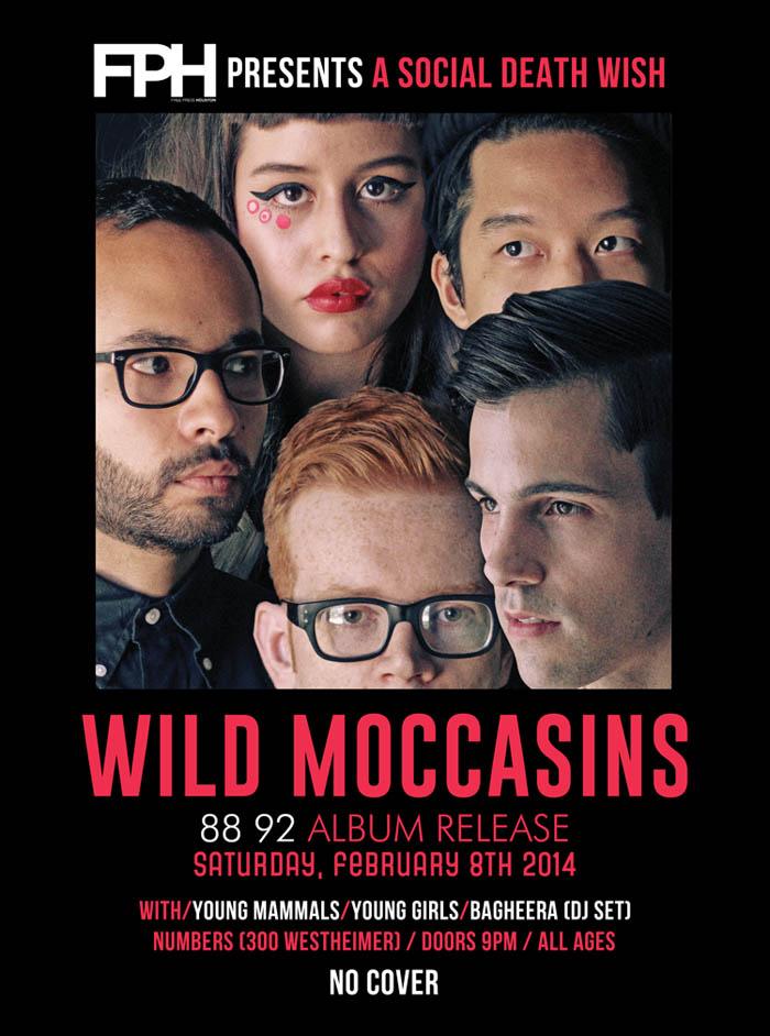 Wild Moccasins Album Release   Wild Moccasins 88 92 Album   Music Shows in Houston   Arts and Music in Houston TX