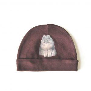 Brown Cat Hat - Grumpy Cat Blue Persian Baby Hat at Pop Shop America