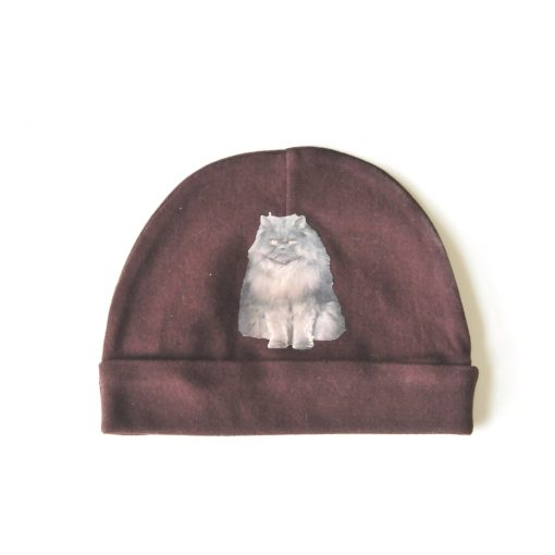 Brown Cat Hat - Grumpy Cat Blue Persian Baby Hat at Pop Shop America