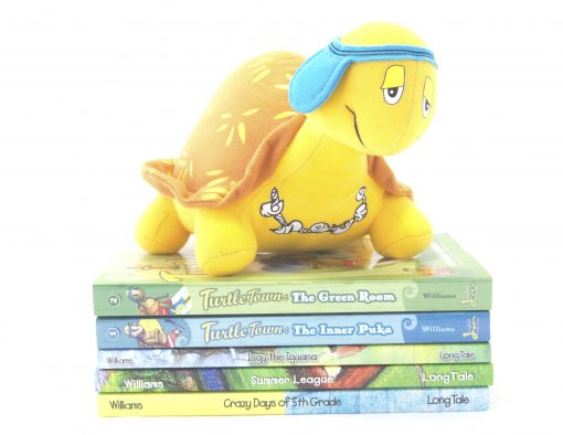 Snap Turtle from Turtle Town Kids Books by Melissa Williams Houston