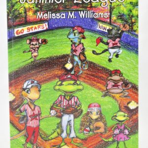 Summer League an Iggy the Iguana Book Cover by Melissa. M. Williams