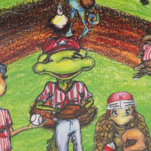 Detail of Summer League and Iggy the Iguana Book