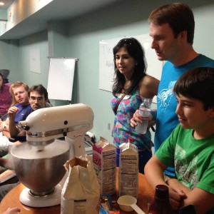 bright minds food workshop houston how to make ice cream with dry ice