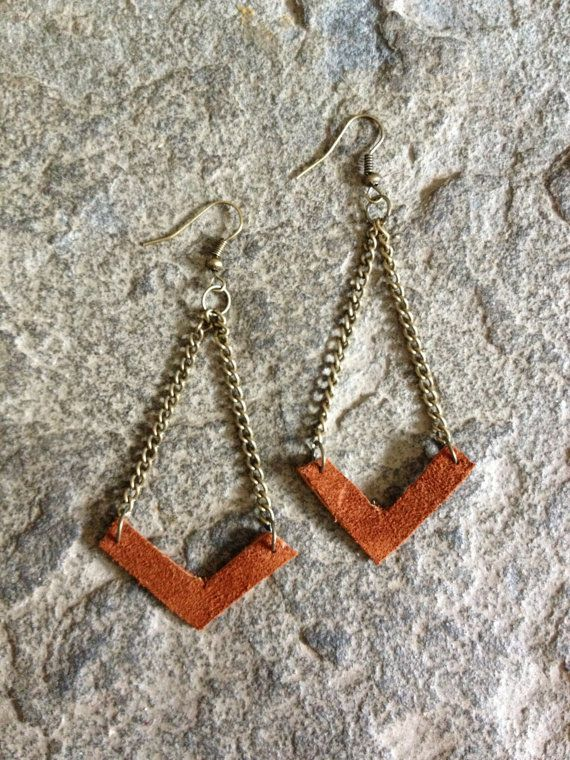 DIY leather earrings craft class menu of art classes by pop shop america handmade boutique