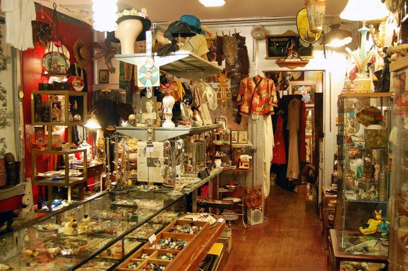 Late Night Vintage and Antiques Shopping at The PLACE Upstairs