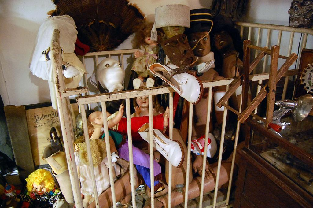 Creepy Dolls | Vintage Medical Equipment | Taxidermy Houston at the Place Upstairs Oddities Shop