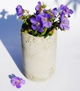 Concrete Vase DIY how to make an easy concrete planter