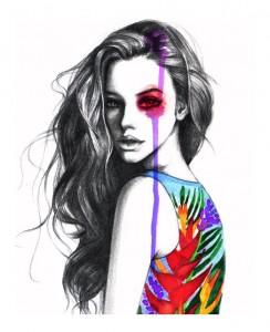 Rongrong Fashion Illustration Fashion Illustrator