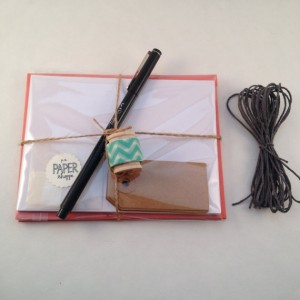 Handmade Stationery Kit by PS Paper Shoppe