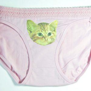 Orange Tabby Cat Underwear – Kitten Panties Cat Underwear Handmade at Pop Shop America