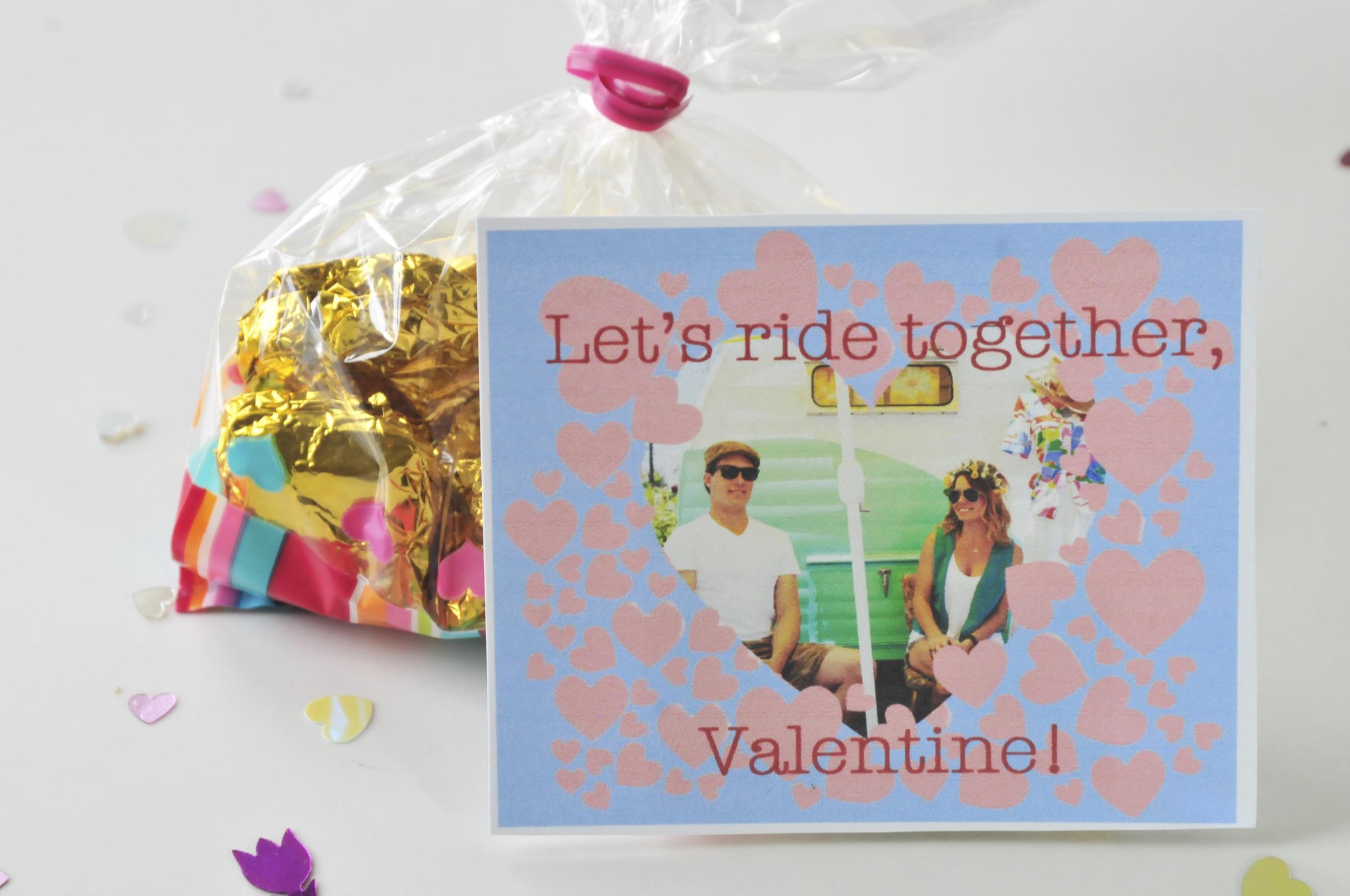 Airstream Valentine Vintage Valentines by Pop Shop America