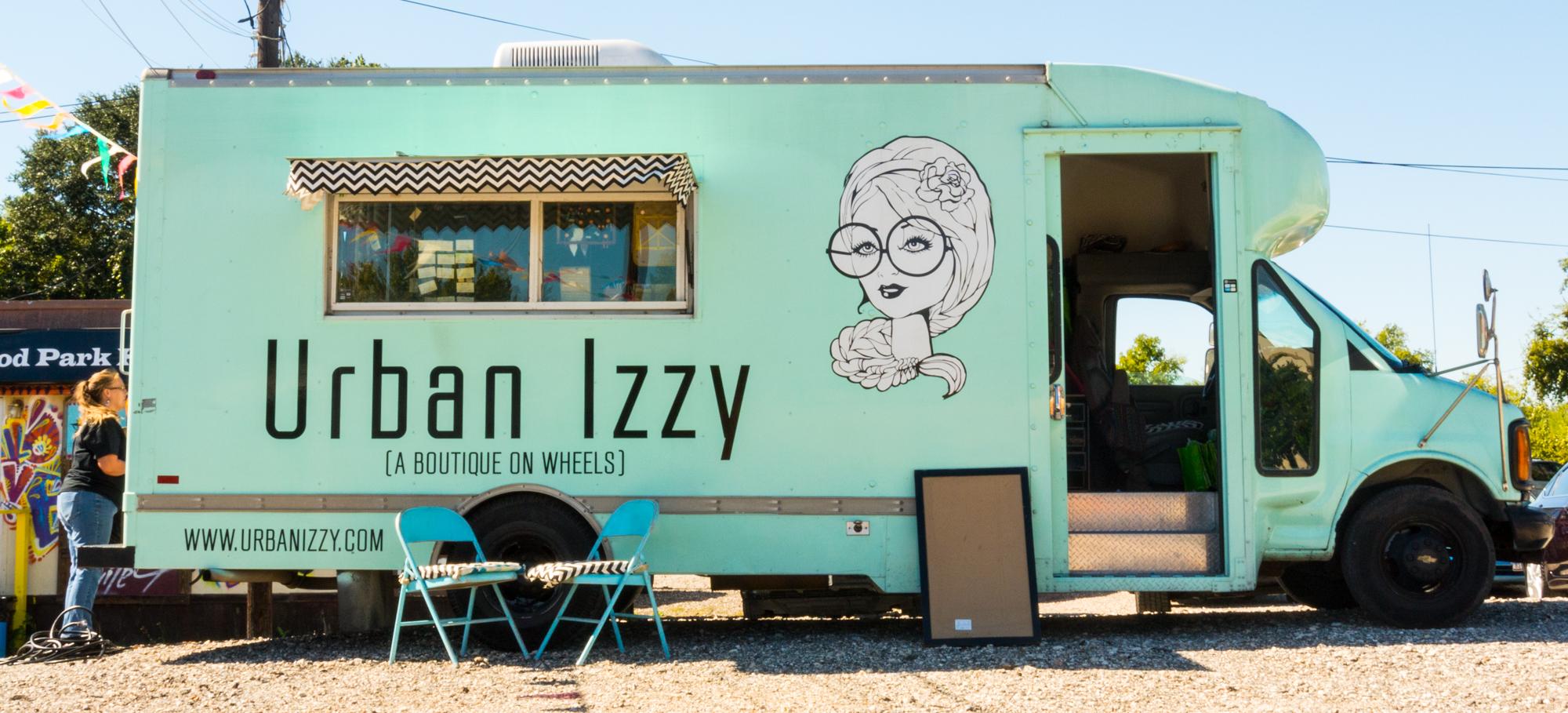 Urban-Izzy-Mobile-Boutique- houston fashion boutiques womens clothes handmade goods