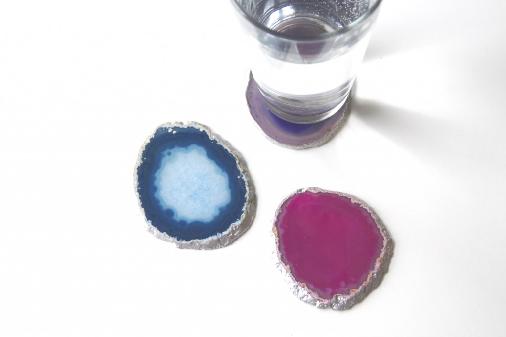 Agate Coasters Gorgeous Crystal Slice Coasters