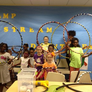 hula hoop workshop at houston public libraries