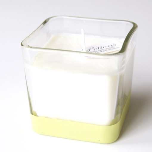 Pomelo Candle Color Blocked Candle by Potions at Pop Shop America