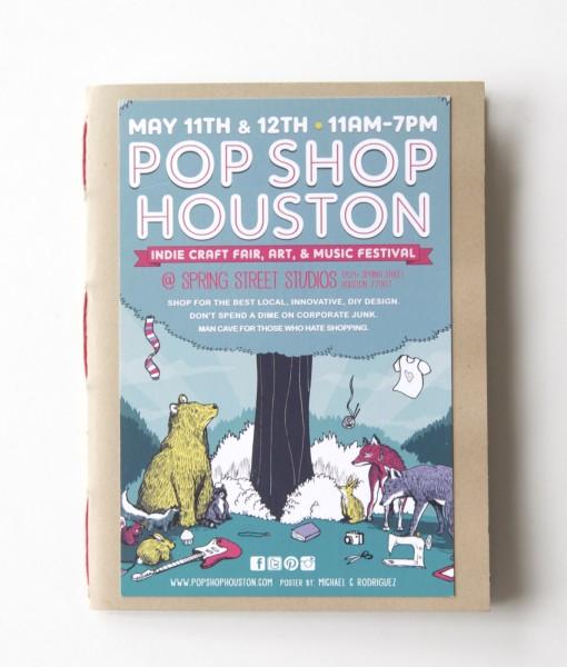 Front Cover handmade sketchbooks at Pop Shop America DIY Shop