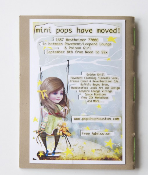 Soft Cover Sketch Books with Art by Jessica Von Braun Shop at Pop Shop America