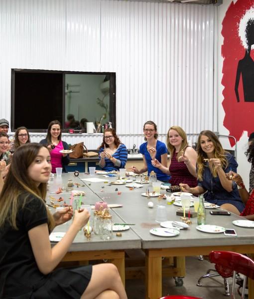 craft workshops houston art classes txrx labs and pop shop america