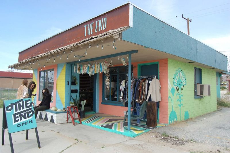 The End Vintage Shopping Joshua Tree Vintage Clothing
