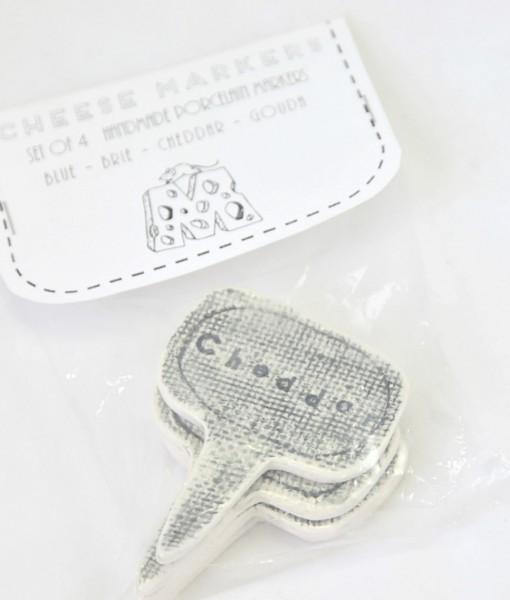 Ceramic Cheese Markers by Muddy Heart Ceramics