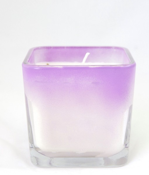 Ombre Candle Lemon Lavender Candle Pop Shop America