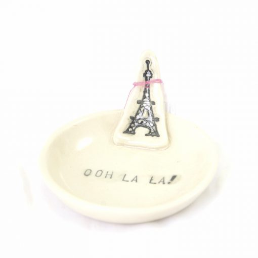 Ooh La La! Eiffel Tower Paris Ring Dish Pop Shop America Handmade Boutique