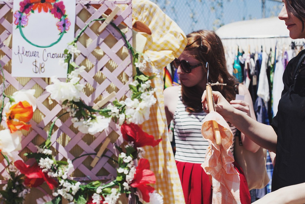A Hippy Heart Vintage - Flower Crowns at Pop Shop Houston Festival