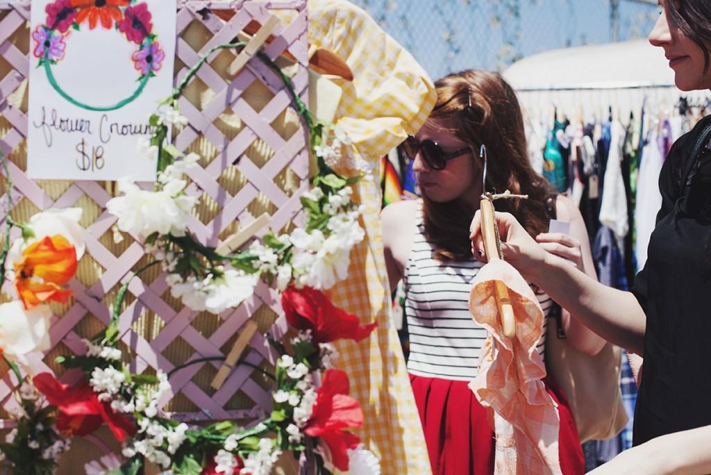 A Hippy Heart Vintage - Flower Crowns at Pop Shop Houston Festival