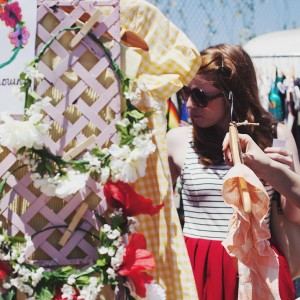 A Hippy Heart Vintage – Flower Crowns at Pop Shop Houston Festival
