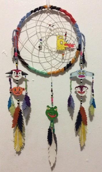Dreamcatcher by Jason Villegas Artist Pop Shop Houston Craft Workshops