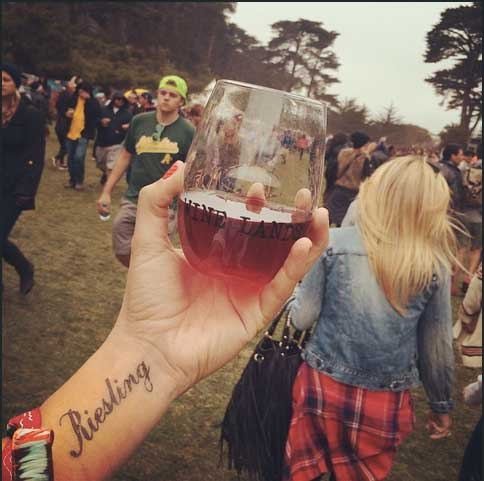 Wine Lands at Outside Lands Festival San Francisco Best Art Festivals